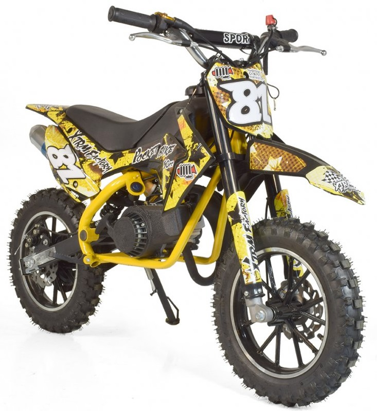 pocket bike cross 50cc moteur 2 temps