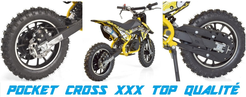 pocket cross xxx moto pour enfants