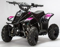 quad enfant 110cc diamond bigfoot rose pas cher