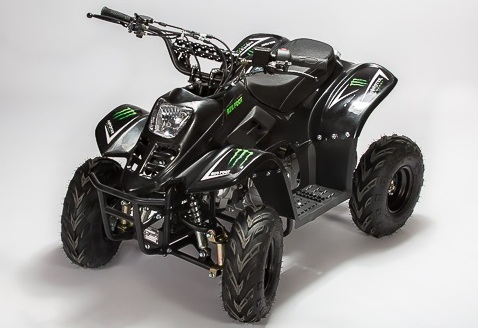 quad 110cc diamond big foot monster energy