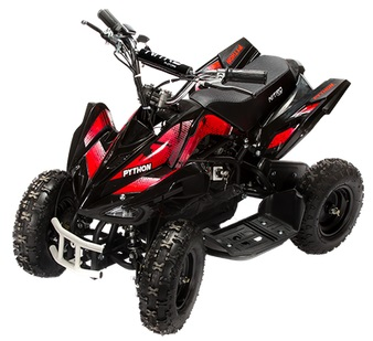 pocket quad cross enfant electrique scorpion 800w