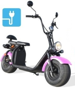 scooter electrique 1500w homologue route citycoco t cruiser