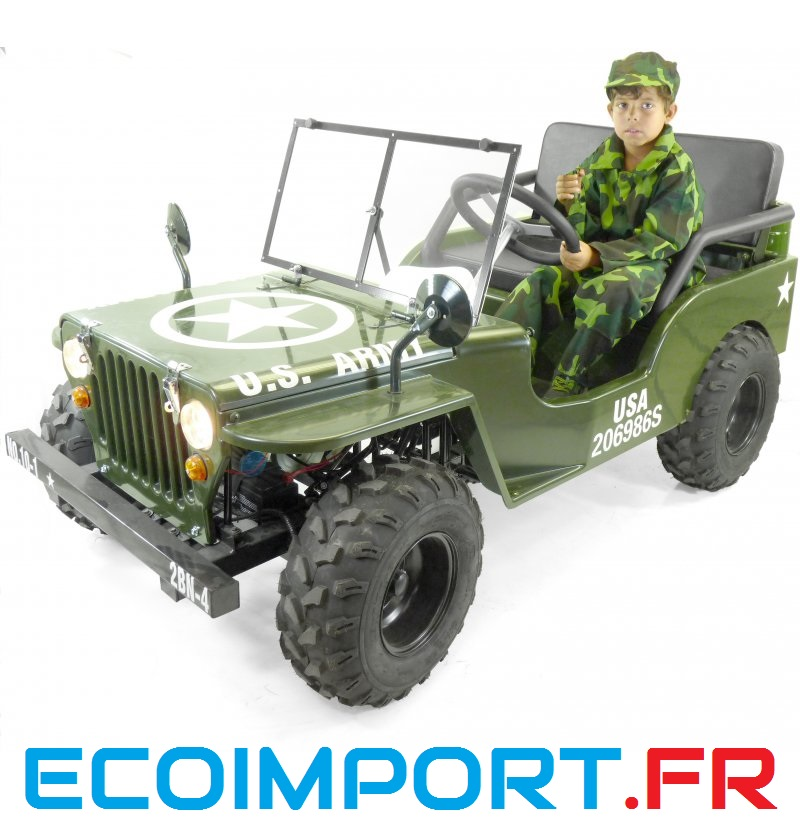 jeep 150cc vitesses semi automatiques willys