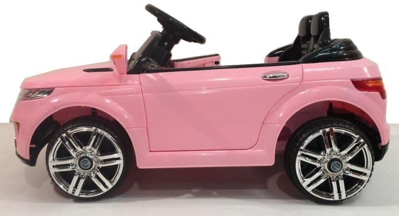 mini voiture enfant electrique rose range rover evoque. Black Bedroom Furniture Sets. Home Design Ideas