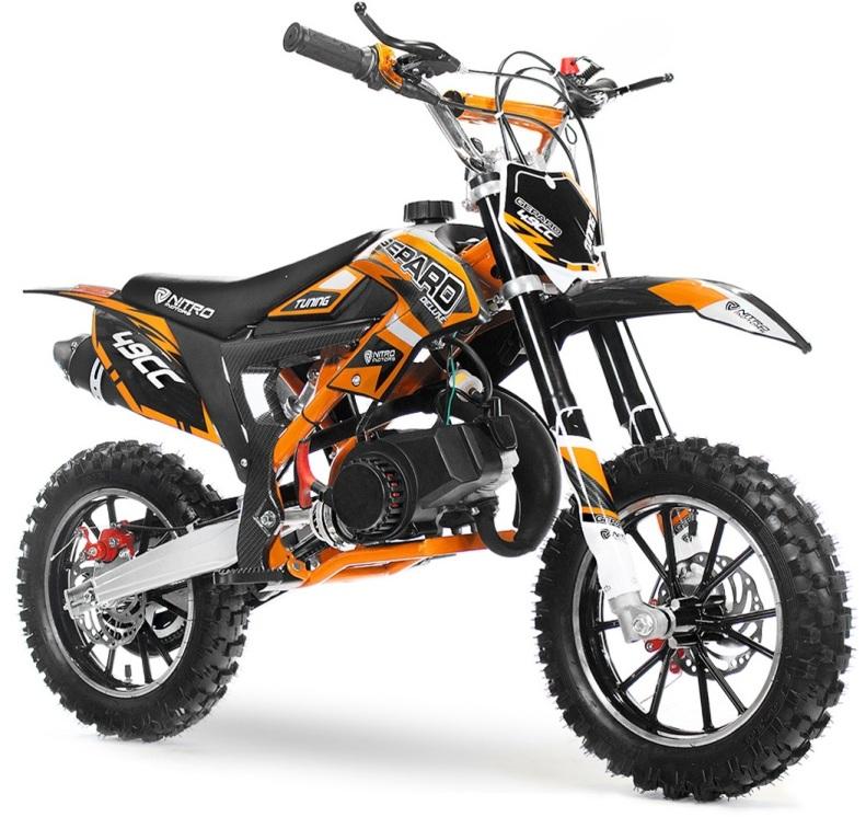 moto cross enfant leopard gepard 50cc de luxe pas chere mini motocross enfant grandes roues