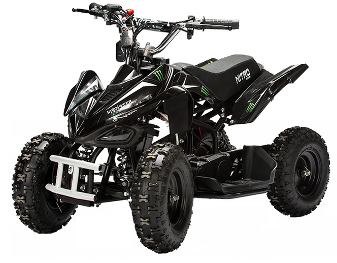 pocket quad enfant pas cher 50cc monster nitro