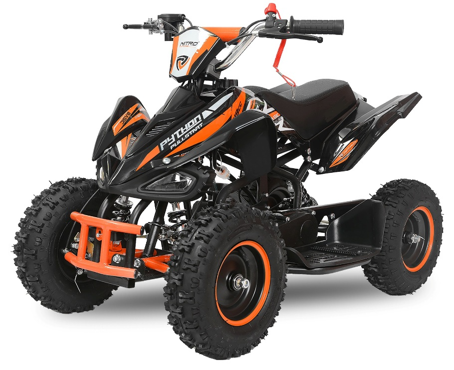 pocket quad monster noir orange pas cher