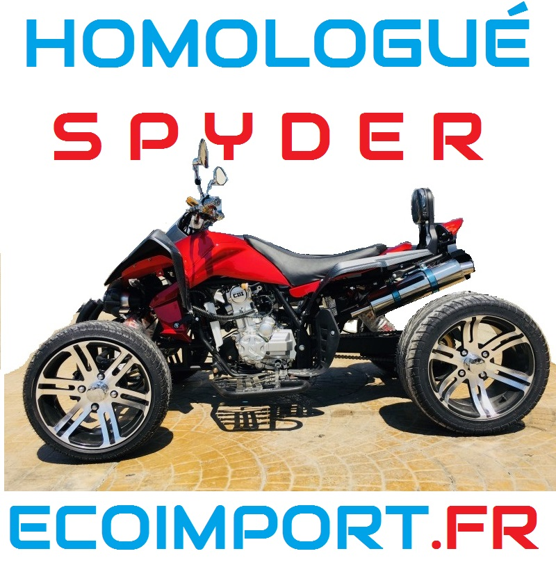 quad spy racing spyder homologue route pas cher