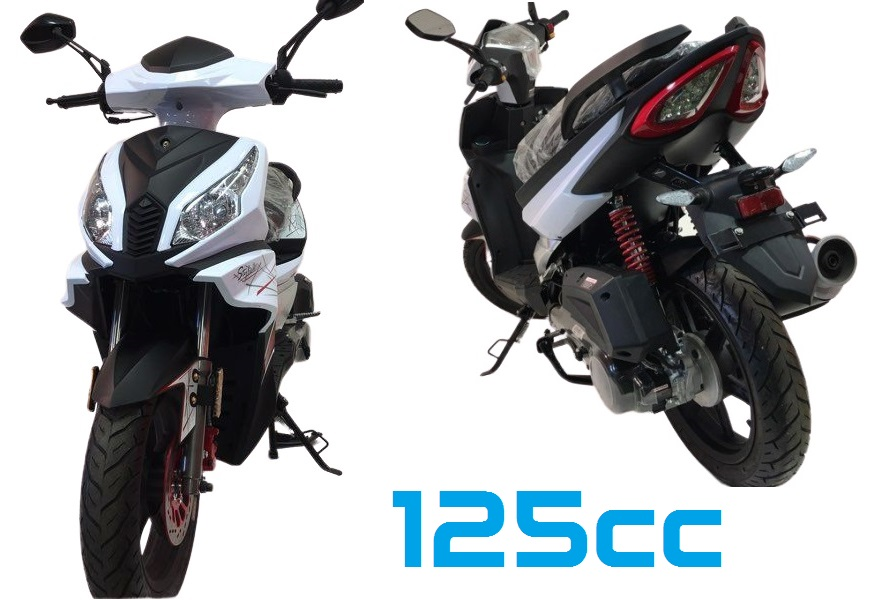 scooter 125cc neuf pas cher