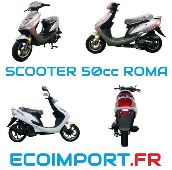 scooter 50cc roma pas cher ecoimport