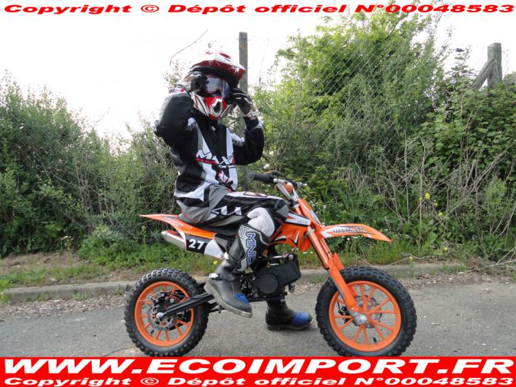 Moto cross 50 enfant