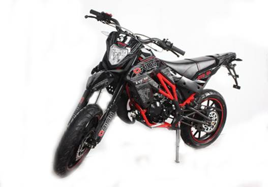 supermotard 50cc orion homologue route pas chere moto. Black Bedroom Furniture Sets. Home Design Ideas