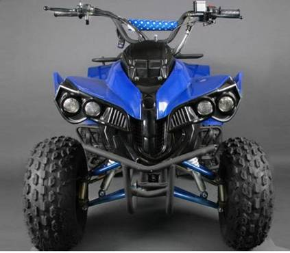 Quad-xxl-turbo-110cc-warrior-guerrier